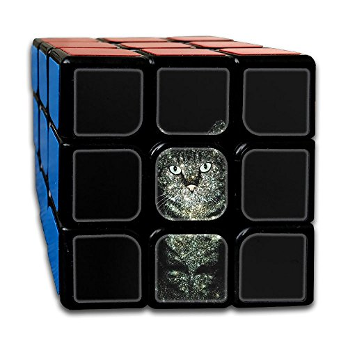 AVABAODAN Shine Cat Rubik's Cube Original 3x3x3 Magic Square Puzzles Game Portable Toys-Anti Stress For Anti-anxiety Adults Kids by AVABAODAN
