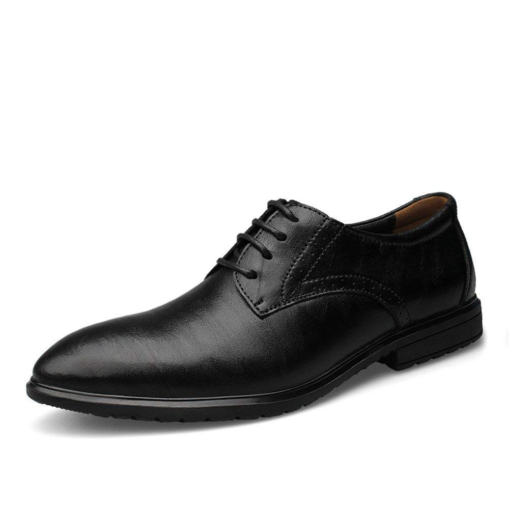 FuweiEncore 2018 Männer Business Oxford Casual Casual Casual New Invisible Innen erhöhen Klassische Formale Schuhe (Farbe   Schwarz, Größe   43 EU) (Farbe   Schwarz, Größe   39 EU) cf1fa0