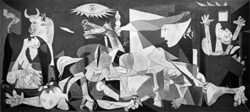 Guernica 1937 by Pablo Picasso 18x8 Museum Art Print Poster - Picasso Guernica 1937