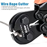 IWISS Swage Tool Wire Rope Crimping Tool with Cable