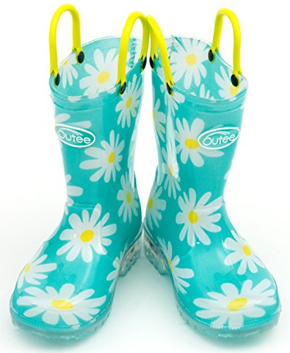 Pictures of Outee Toddler Girls Kids Light Up Rain GLP18AFLWAQU7 6
