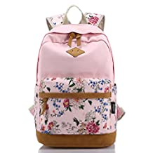 Green Youth Women's And Men's Fashion Sports Schoolbag Casual Travel Bag Canvas Backpack