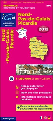 carte ign android gratuit Nord Pas de Calais/Picardie Carte: Institut Geographique National