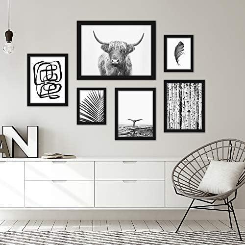 Americanflat Framed Gallery Wall Art Set