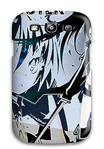 New Tpu Hard Case Premium Galaxy S3 Skin Case Cover(black Shooter Anime)