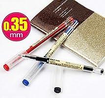 Japanese Ballpoint Pen 0.35 Mm Black Ink Pen School Office Student Exam Pens For Writing Stationery Supply For School Student 3Pcs Black
