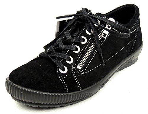Legero Basses Black Femme Schwarz Sneakers Tanaro 00 rT0Ar