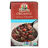 #8: Dr. McDougall's Organic Quinoa Vegetable Lower Sodium Soup - Case of 6 - 18 oz.