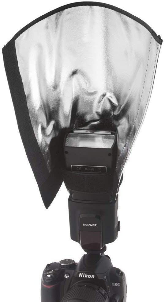 HyxppthiAAccessory Hyx Universal Folding Flash Light Reflector Reflector /&Umbrellas