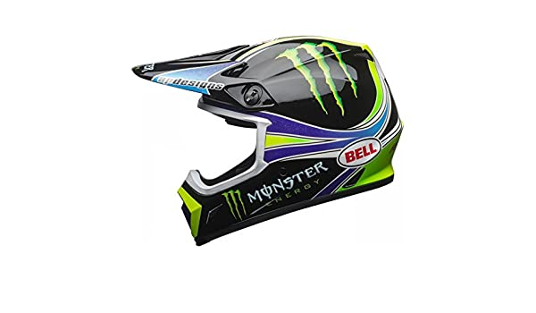 Amazon.es: Bell Casco Moto Cross MX-9 MIPS Team Pro Circuit Monster Energy Replica 18.0 Gloss