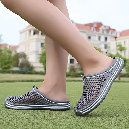 Womens Non Quick Grey Sandal Comfort 2 dry Water Walking Shoes Shower Slippers Garden slip Beach Sintiz Clogs dfBw4d
