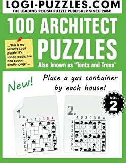 100 Architect Puzzles Tents and Trees (Volume 2)  sc 1 st  Amazon.com & 100 Architect Puzzles: Tents and Trees: LOGI Puzzles Urszula ...