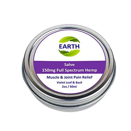 Hemp Salve - Organic Hemp Salve - 2oz / 60 ml with 150mg Full Spectrum Hemp