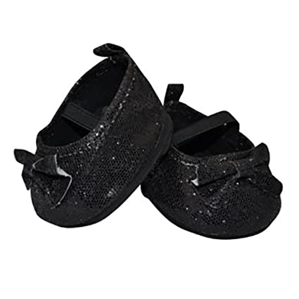48d07354baf4 Image Unavailable. Image not available for. Color  Black Sparkly Dress Shoes  ...
