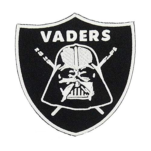 (STAR WARS Darth Vader Sith Lord GLOW IN THE DARK Embroidery PATCH Shirts Hats Jackets Bags Halloween Costume Easy Iron)