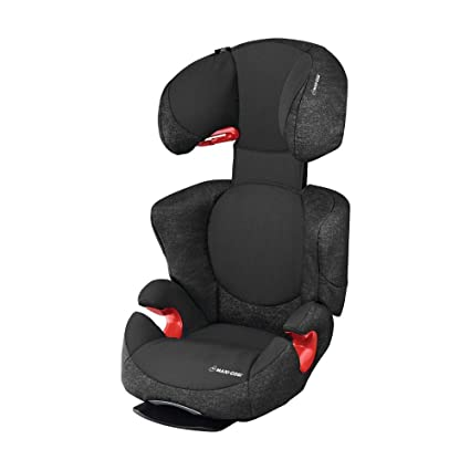 c64e6dcdc23 Maxi-Cosi Rodi AirProtect Child Car Seat, Lightweight Highback Booster, 3.5  - 12 Years, 15-36 kg, Nomad Black: Amazon.co.uk: Baby