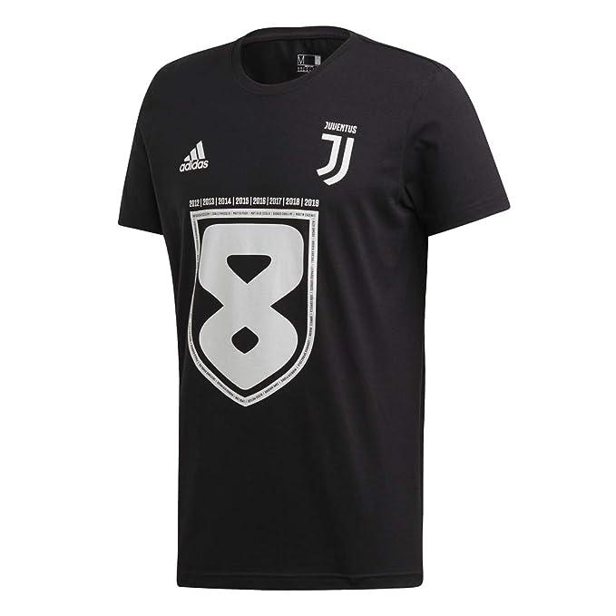 37b1d0776f5320 Juventus Maglia Scudetto 2019 100% Originale - Bambino - Maglia Celebrativa  Nera - Campioni d