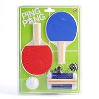 Indoor Mini Office Desktop Ping Pong Tischtennis-Set