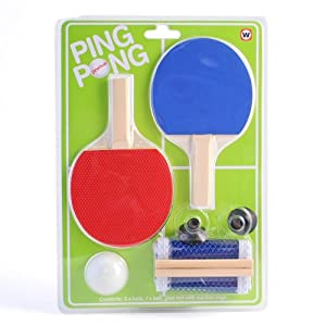 Indoor Mini Office Desktop Ping Pong Tischtennis-Set