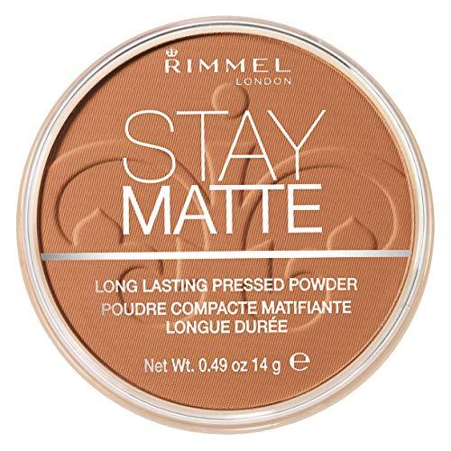 Rimmel London Stay Matte Pressed Powder – Honey, 8.5 g (0.3 fl.oz)