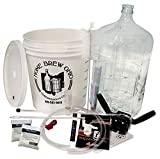 Gold Complete Beer Equipment Kit (K6) with 6 Gallon Glass Carboy, Garden, Lawn, Maintenance