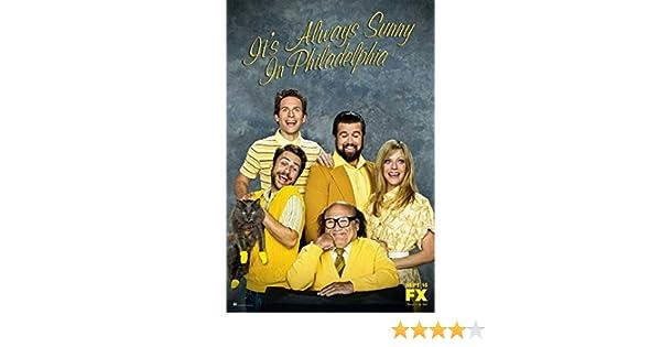 28cm x 44cm Rob McElhenney Charlie Day Glenn Howerton Kaitlin Olson Its Always Sunny in Philadelphia Poster TV C 11 x 17 Inches