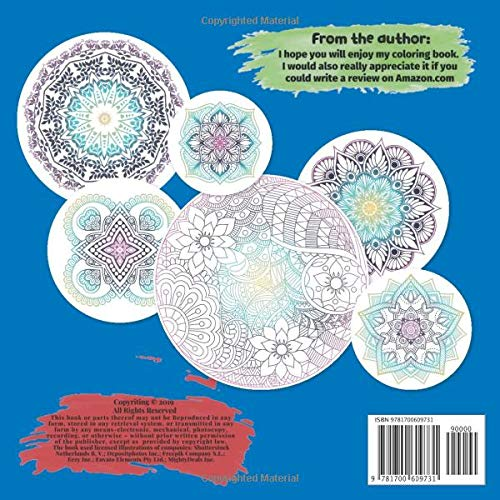 Adult Coloring Book for Women Mandala 100+ pages – Some things need to be let go before other things can be let in.