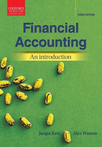 Financial Accounting: An Introduction 3e (Oxford Southern Africa)