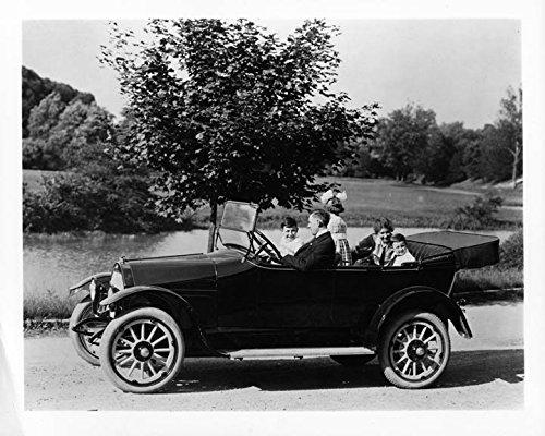 1917 Willys Overland Touring Model 85-4B ORIGINAL Factory Photo