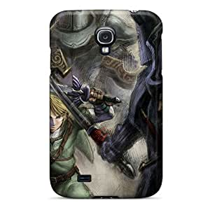 Hot Fashion WLa3065jyUf Design Case Cover For Galaxy S4 Protective Case (link Concept The Legend Of Zelda)