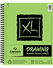 """Canson XL Series Drawing, 9"""" x 12"""", White"""