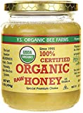 YS Organic Bee Farms 100% Certified Organic Raw Honey 1 lb (454g)! Unpasteurized, Unfiltered, and in its Fresh Raw State! (2)