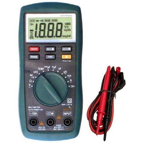 Walmart Digital Multimeter : Cat iii autoranging digital multimeter with temperature