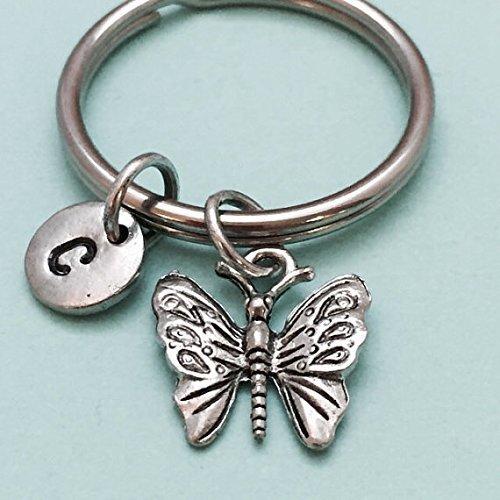Amazon.com  Butterfly keychain 4ccb81bd0e09