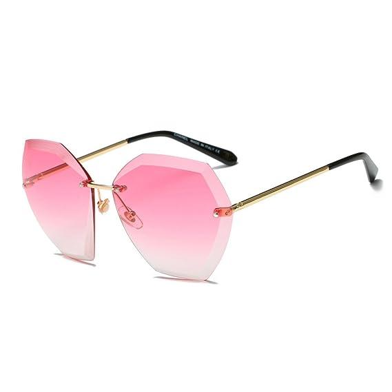 ZODOF Mujer Oversized Gafas De Sol Polarizadas Protección ...