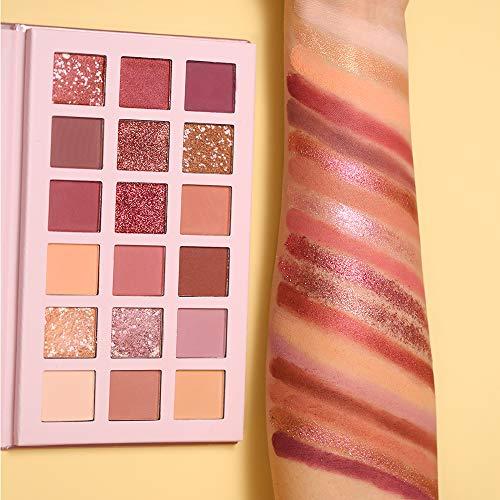 2Pcs UCANBE Twilight Dust + Aromas The New Nude Eyeshadow Palette Makeup Set, Matte Shimmer Glitter Pressed Pearl All Highly Pigmented Blending Powder, Natural Velvet Texture Eye Shadow Kit