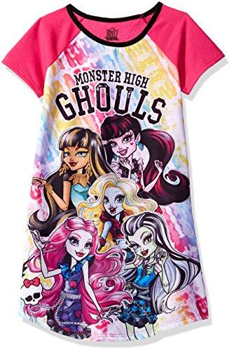 Monster High Clothes For Girls (Monster High Big Girls' Ghouls Dorm, Pink, Medium (7-8))