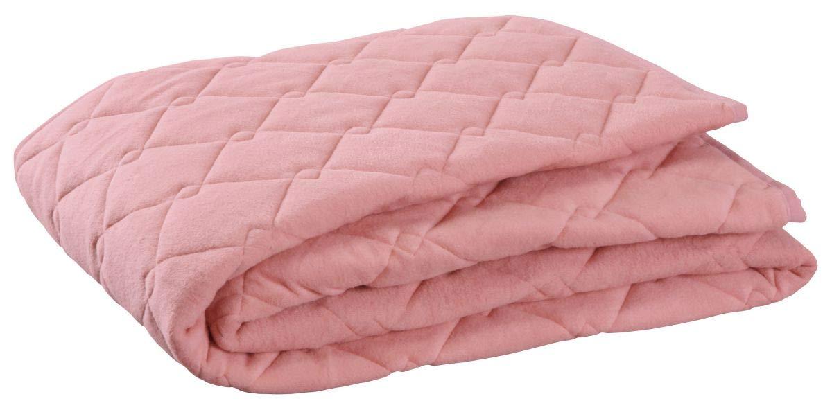 ロマンス小杉 ピンク シングル(100×205cm) ウォームサポート アウトラスト 敷きパッド 1-3431-5030-8100 B07HJYJ5PJ ピンク