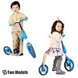 Image of Vokul Mini Kick 3 Wheel Scooter Mini Micro Kick Scooter with Flashing Wheel for Age 2-5