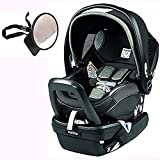 Peg Perego Primo Viaggio Nido Car Seat with Load Leg Base w/ Back Seat Mirror – Atmosphere Review