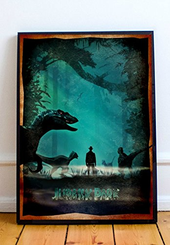 08df37be6 Amazon.com: Jurassic Park Limited Poster Artwork - Professional Wall Art  Merchandise (More Sizes Available) (8x10): Posters & Prints