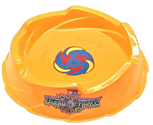 (MW081 Beyblade Yellow Battle Stadium Arena Pegasus Thunder Whip Beystadium USA)