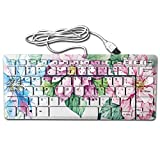 GSSHA Compact Full Keyboard Be Kind Positive Message Of Love And Happiness Ultra-Thin Interesing Design Computer Keyboard