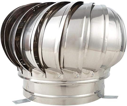 LTLCBB Sombrero Extractor Giratorio, Tubo De Escape Pelota Viento Natural Ventilador De Ventilación Gorro De Chimenea Ventilador La Turbina Soplador,400mm: Amazon.es: Hogar