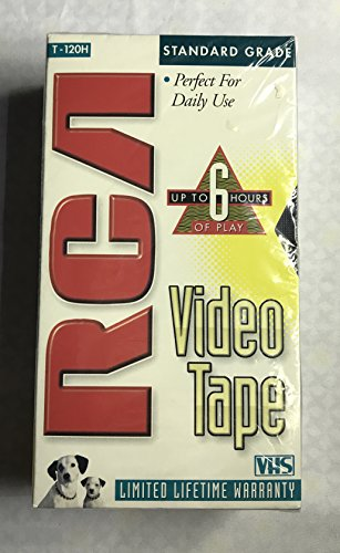 RCA T-120H VHS Video Cassette 120-Minutes (2-Pack)