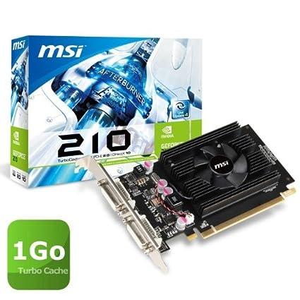 Msi N210-TC1GD2 - Tarjeta gráfica NVIDIA GeForce GT210 (DDR2 ...