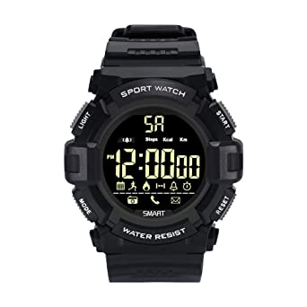 Amazon.com: Star_wuvi Waterproof Bluetooth Sport Smart Watch ...