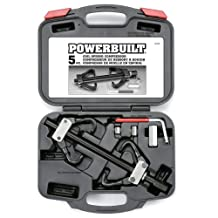 Powerbuilt Alltrade 648603 Kit 39 Coil Spring Compressor Tool Set