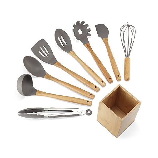 23 Piece Kitchen Utensil Set Stainless Steel Material By