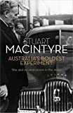 img - for Australia's Boldest Experiment: War and Reconstruction in the 1940s book / textbook / text book